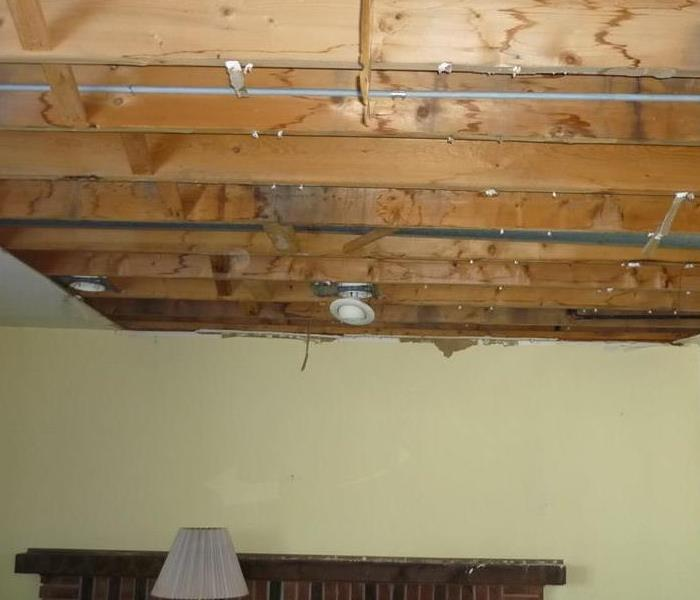 Ceiling Collapse - Storm Damage  After
