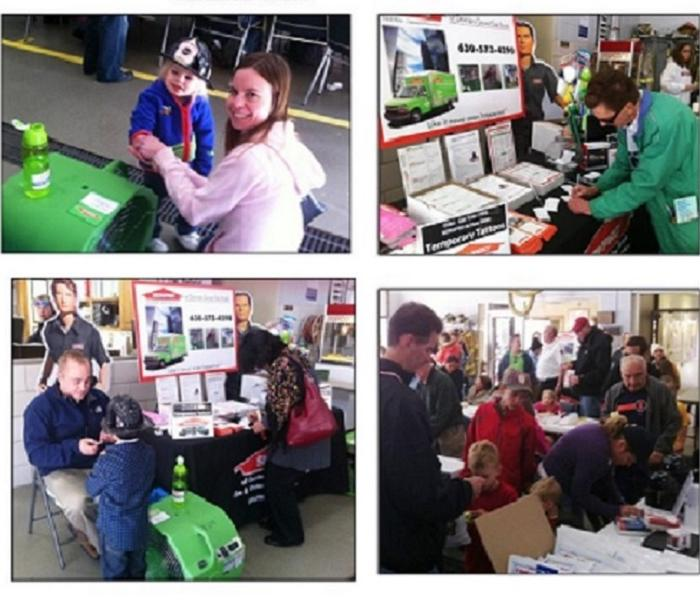 SERVPRO of Downers Grove and Oak Brook at the Clarendon Hills Fire Department's Day