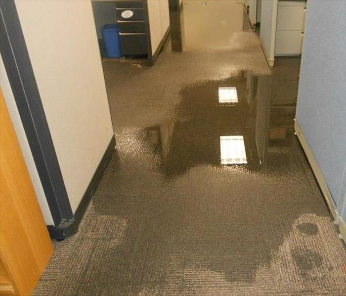 Office Building - Water Damage