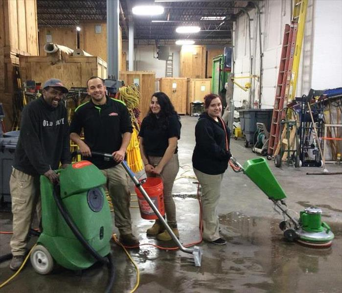 Training on new SERVPRO equipment