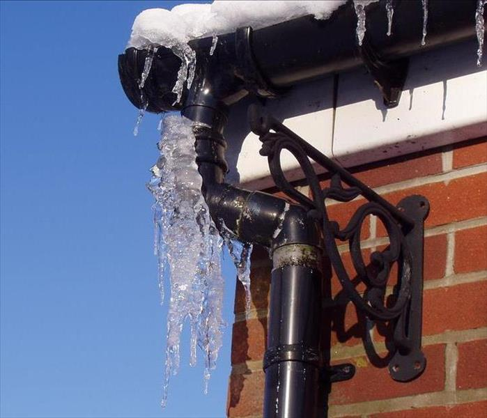 Water Damage Cold Weather is coming! Look out for Frozen Pipes.