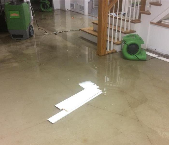 Water Damage Downers Grove & Oak Brook Residents: We Specialize in Flooded Basement Cleanup and Restoration!